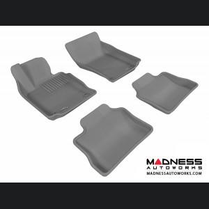 Porsche Panamera Floor Mats (Set of 4) - Gray by 3D MAXpider
