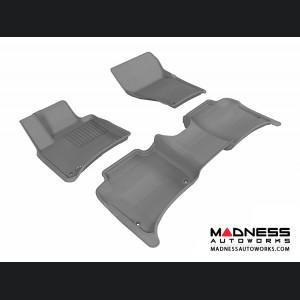 Porsche Cayenne Floor Mats (Set of 3) - Gray by 3D MAXpider