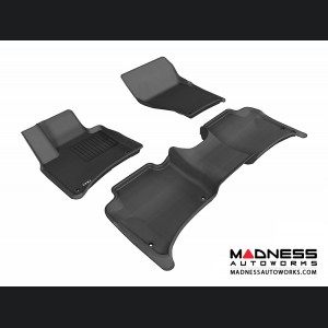 Porsche Cayenne Floor Mats (Set of 3) - Black by 3D MAXpider