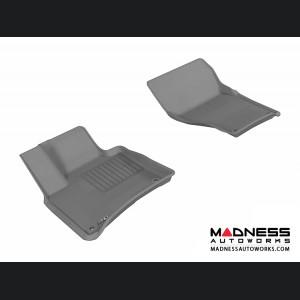 Volkswagen Touareg Floor Mats (Set of 2) - Front - Gray by 3D MAXpider