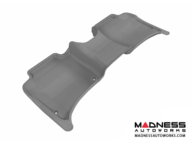 Volkswagen Touareg Floor Mat - Rear - Gray by 3D MAXpider