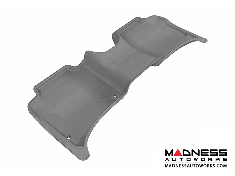 Porsche Cayenne Floor Mat - Rear - Gray by 3D MAXpider