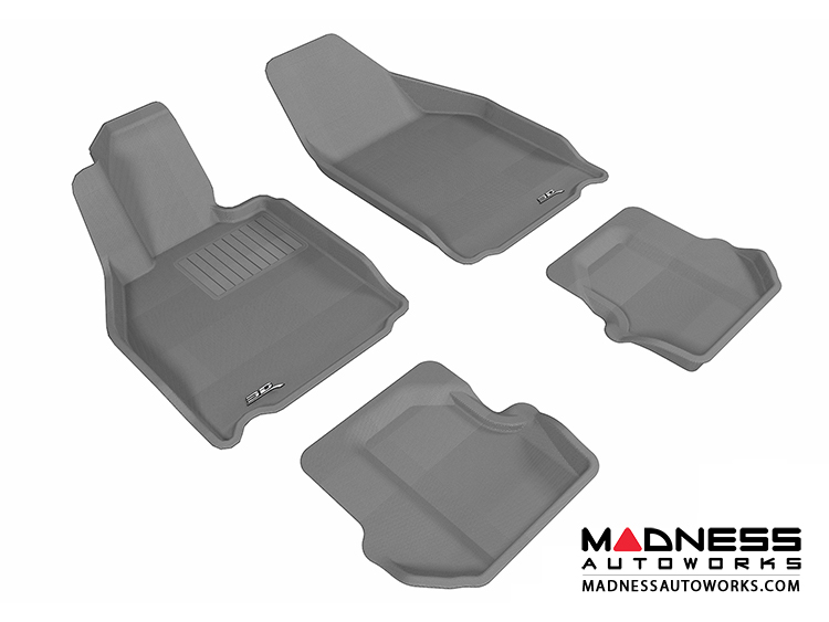 Porsche 911 Floor Mats (Set of 4) - Gray by 3D MAXpider