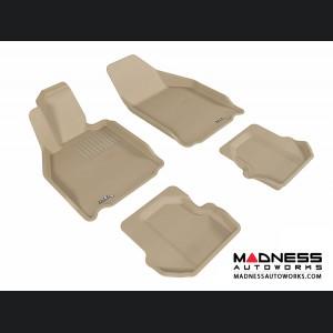 Porsche 911 Floor Mats (Set of 4) - Tan by 3D MAXpider