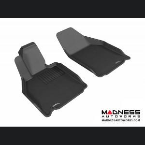 Porsche 911 Floor Mats (Set of 2) - Front - Black by 3D MAXpider