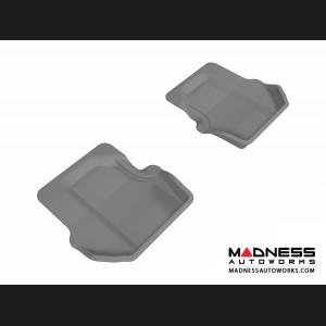 Porsche 911 Floor Mats (Set of 2) - Rear - Gray by 3D MAXpider