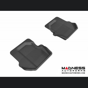 Porsche 911 Floor Mats (Set of 2) - Rear - Black by 3D MAXpider
