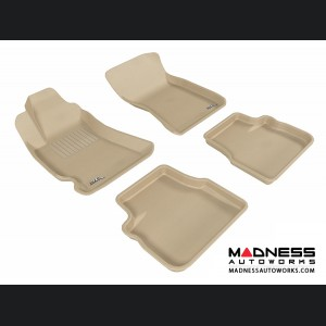 Subaru Forester Floor Mats (Set of 4) - Tan by 3D MAXpider