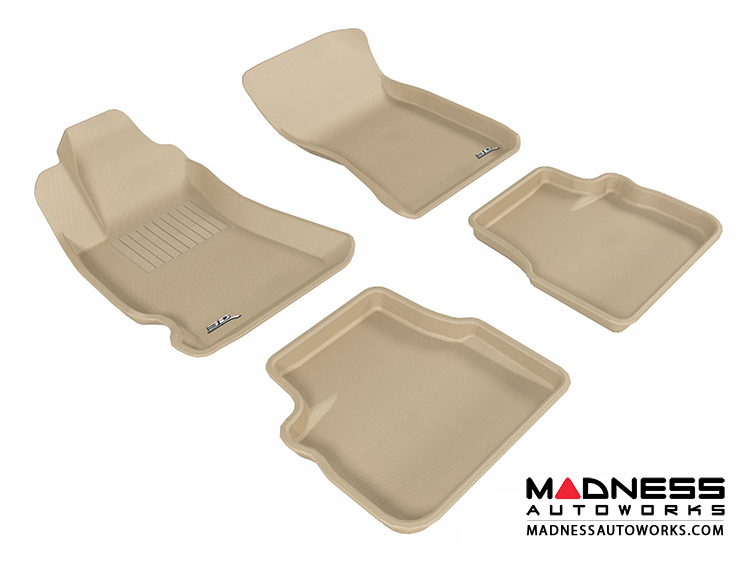 Subaru Forester Floor Mats (Set of 4) - Tan by 3D MAXpider