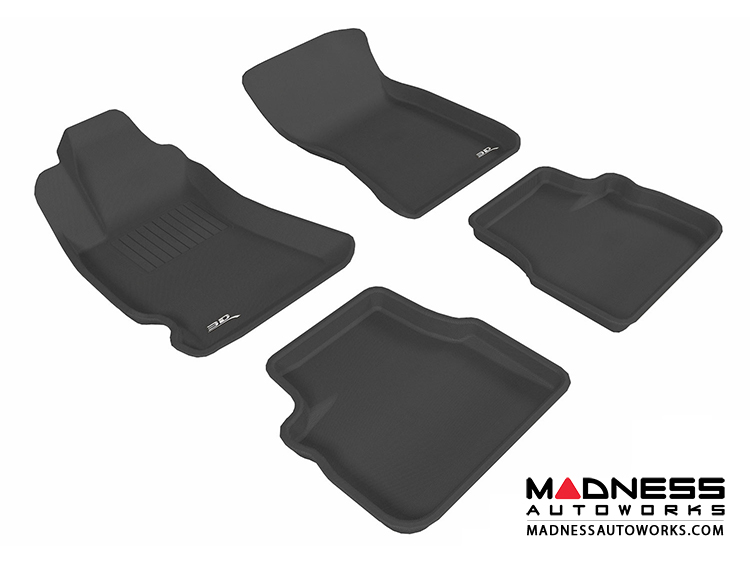 Subaru Forester Floor Mats (Set of 4) - Black by 3D MAXpider