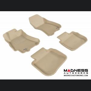 Subaru Legacy Floor Mats (Set of 4) - Tan by 3D MAXpider