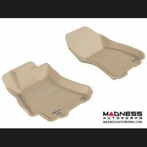 Subaru Legacy/ Outback Floor Mats (Set of 2) - Front - Tan by 3D MAXpider