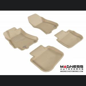 Subaru Outback Floor Mats (Set of 4) - Tan by 3D MAXpider