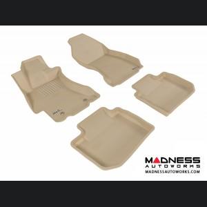 Subaru XV Crosstrek Floor Mats (Set of 4) - Tan by 3D MAXpider