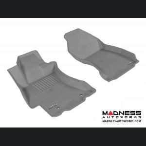 Subaru XV Crosstrek Floor Mats (Set of 2) - Front - Gray by 3D MAXpider