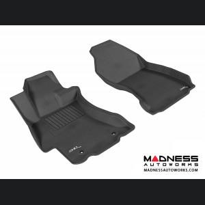 Subaru XV Crosstrek Floor Mats (Set of 2) - Front - Black by 3D MAXpider