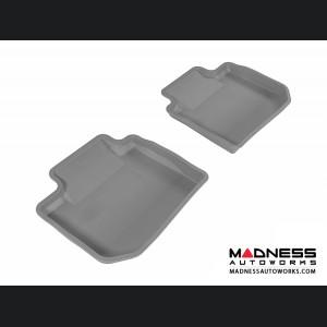 Subaru XV Crosstrek Floor Mats (Set of 2) - Rear - Gray by 3D MAXpider