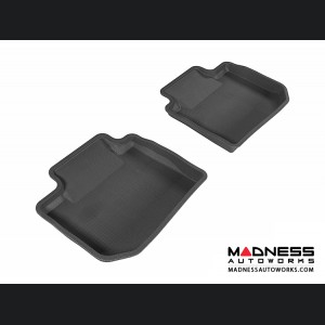 Subaru XV Crosstrek Floor Mats (Set of 2) - Rear - Black by 3D MAXpider