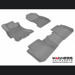 Subaru Forester Floor Mats (Set of 3) - Gray by 3D MAXpider