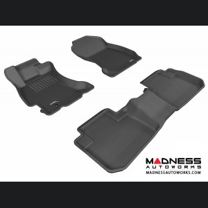 Subaru Forester Floor Mats (Set of 3) - Black by 3D MAXpider
