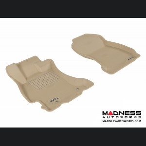 Subaru Forester Floor Mats (Set of 2) - Front - Tan by 3D MAXpider