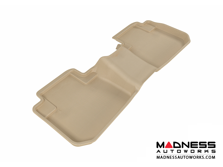 Subaru Forester Floor Mat - Rear - Tan by 3D MAXpider