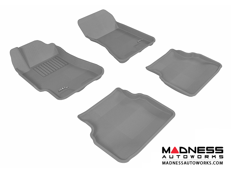 Subaru Impreza Sedan Floor Mats (Set of 4) - Gray by 3D MAXpider