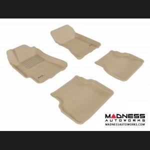Subaru Impreza Sedan Floor Mats (Set of 4) - Tan by 3D MAXpider