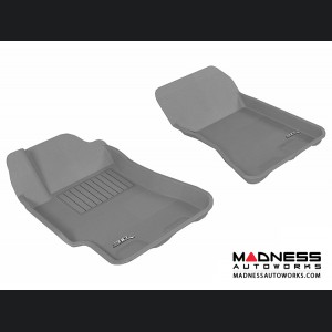Subaru Impreza Sedan Floor Mats (Set of 2) - Front - Gray by 3D MAXpider