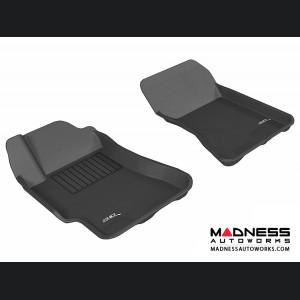 Subaru Impreza Sedan Floor Mats (Set of 2) - Front - Black by 3D MAXpider