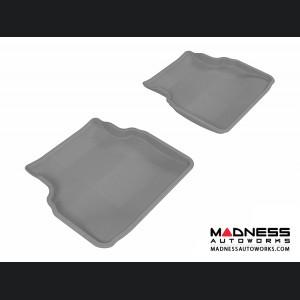 Subaru Impreza Sedan Floor Mats (Set of 2) - Rear - Gray by 3D MAXpider
