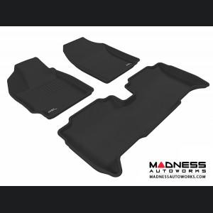 Scion XD Floor Mats (Set of 3) - Black by 3D MAXpider