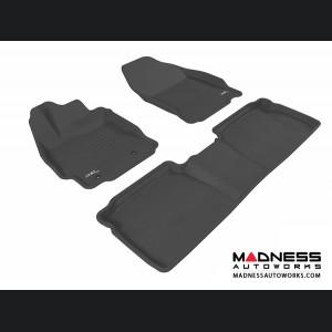 Scion TC Floor Mats (Set of 3) - Black by 3D MAXpider