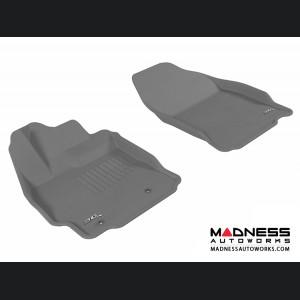 Scion TC Floor Mats (Set of 2) - Front - Gray by 3D MAXpider