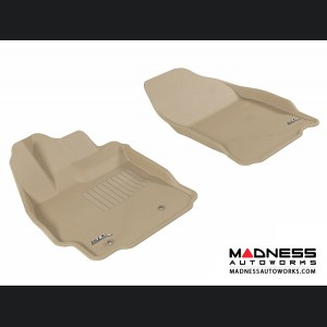 Scion TC Floor Mats (Set of 2) - Front - Tan by 3D MAXpider