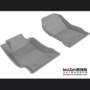 Scion FR-S Floor Mats (Set of 2) - Front - Gray by 3D MAXpider