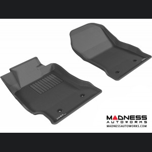 Scion FR-S Floor Mats (Set of 2) - Front - Black by 3D MAXpider