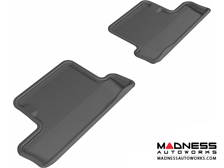 Scion FR-S Floor Mats (Set of 2) - Rear - Black by 3D MAXpider