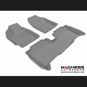 Scion XD Floor Mats (Set of 3) - Gray by 3D MAXpider
