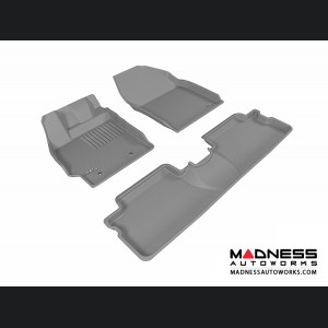 Scion XB Floor Mats (Set of 3) - Gray by 3D MAXpider