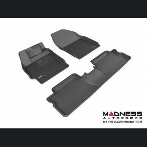 Scion XB Floor Mats (Set of 3) - Black by 3D MAXpider