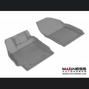 Scion XB Floor Mats (Set of 2) - Front - Gray by 3D MAXpider