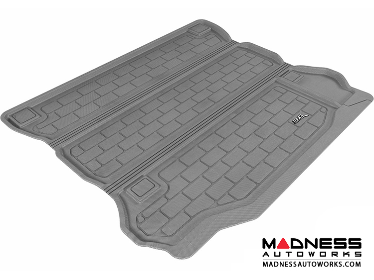Jeep Wrangler Unlimited Cargo Liner - Gray by 3D MAXpider