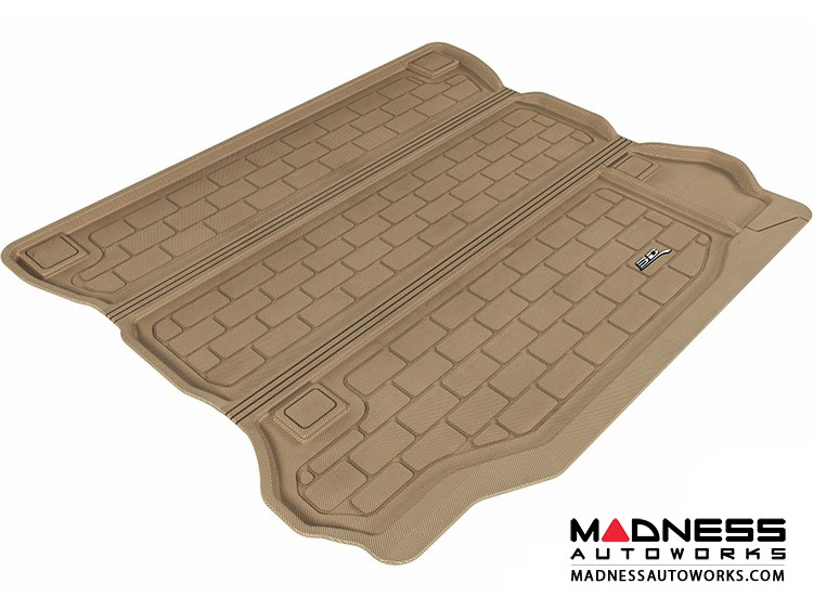 Jeep Wrangler Unlimited Cargo Liner - Tan by 3D MAXpider