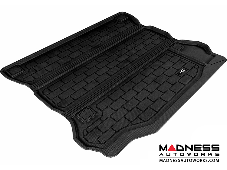 Jeep Wrangler Unlimited Cargo Liner - Black by 3D MAXpider