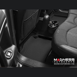 Mercedes-Benz R300/ R350/ R500 Floor Mats (Set of 2) - Rear - Black by 3D MAXpider