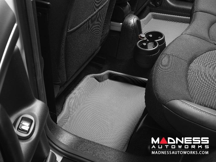 Infiniti G35 G37 Sedan Floor Mats Set Of 2 Rear Gray By 3d
