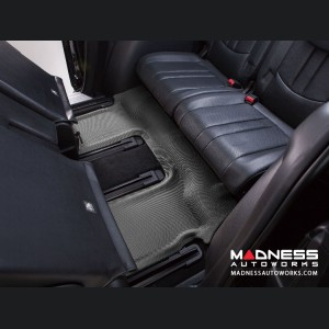Audi Q7 Floor Mat - 3rd Row - Gray by 3D MAXpider (2007-2015)