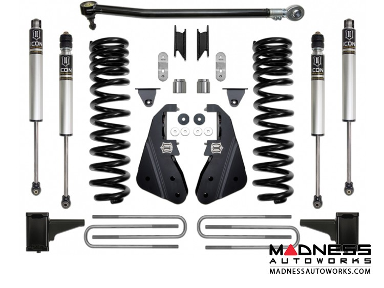"""Ford F-350 4WD Suspension System - Stage 1 - 4.5"""""""