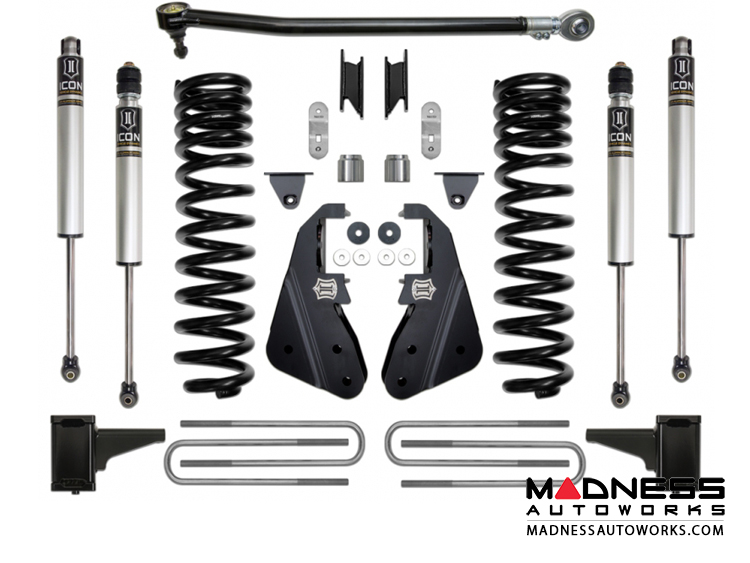 Ford F-250 4WD Suspension System - Stage 1 - 4.5""